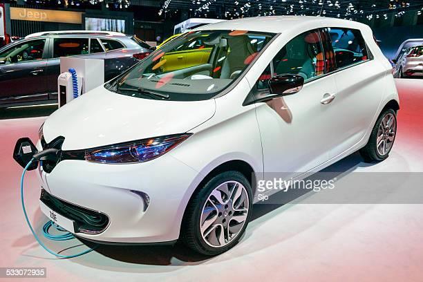 Renault Zoe electric voiture compacte