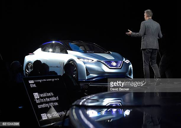 RenaultNissan Alliance Senior Vice President Connected Vehicles and Mobility Services Ogi Redzic has a conversation with an autonomous selfdriving...