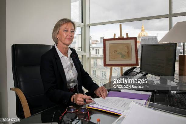 Rendez vous with Secretary of state in charge of people with disabilities Sophie Cluzel in the Health Ministry's offices in Paris May 19 2017