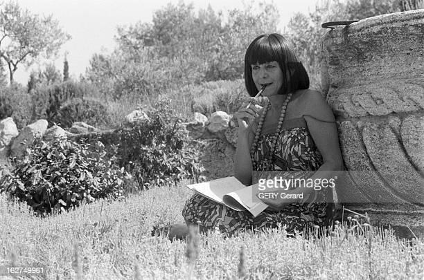 Rendezvous With Alice SaunierSeite En Aout 1980 la ministre aux Universités Alice SAUNIERSEITE en vacances aux Baux de Provence chez ses amis le...
