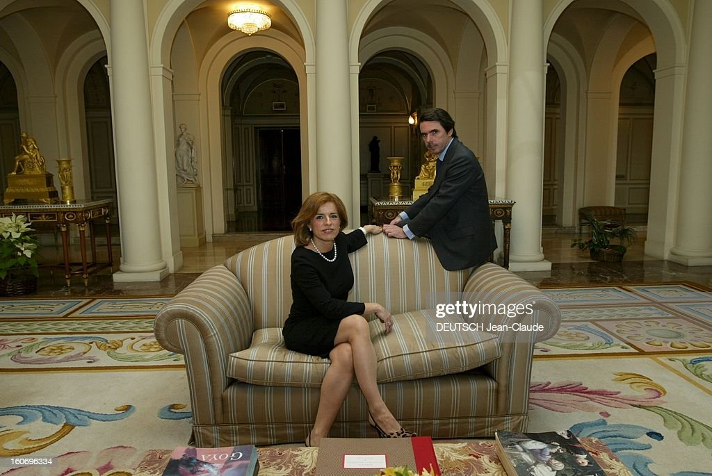 Rendezvous With Ana Botella Jose Maria Aznar's Wife Who's Running For The Cityhall Of Madrid Candidate à la mairie de MADRID Ana BOTELLA posant...