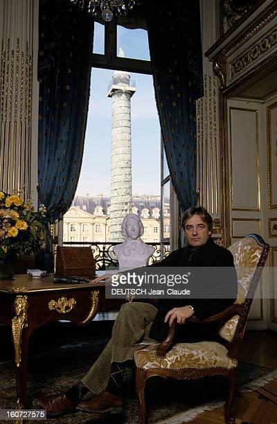 Rendezvous With Andrzej Zulawski Polish Director Paris place Vendôme Mars 1991 Dans les locaux de la bijouterie CHAUMET là ou CHOPIN rendit l'âme en...