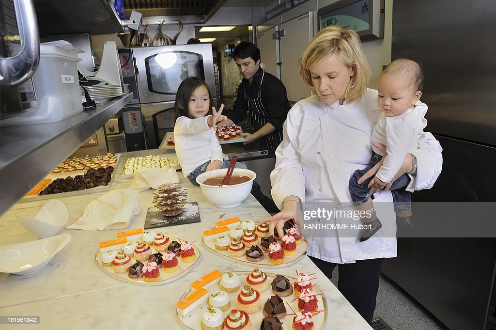 Helene darroze pictures getty images - Restaurant helene darroze paris ...