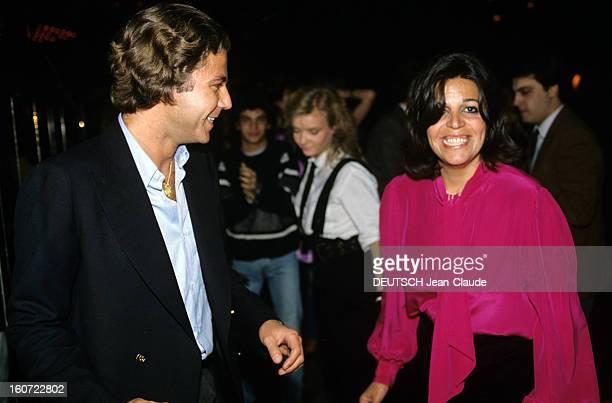 Rendezvous With Christina Onassis And Future Husband Thierry Roussel Paris mars 1984 Portrait de Christina ONASSIS et son futur époux Thierry ROUSSEL...
