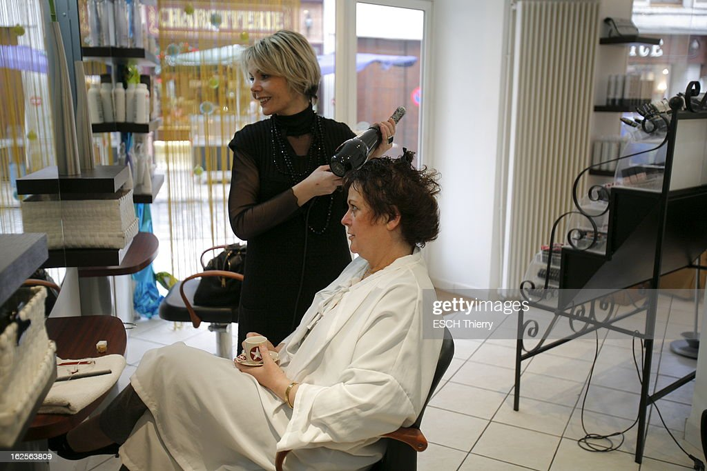 Christine boutin getty images for Salon christine coiffure