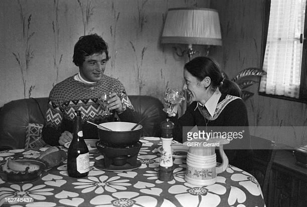 Rendezvous With CrossCountry Skier JeanPaul Pierrat En mars 1978 à la montagne en HauteSavoie le champion de France de ski de fond JeanPaul PIERRAT à...