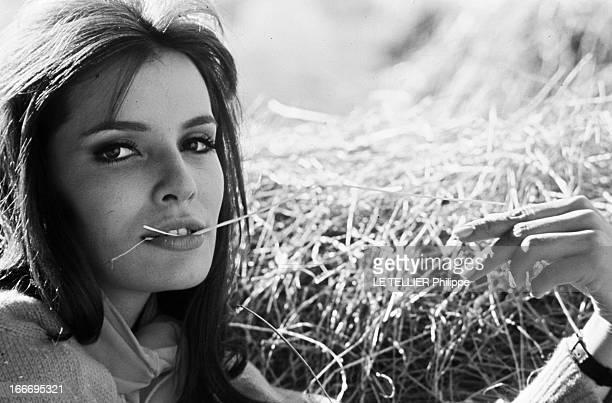 Rendezvous With Daniele Gaubert France Authouillet janvier 1967 la comédienne française Danièle GAUBERT s'apprête à tourner à nouveau dans le film...