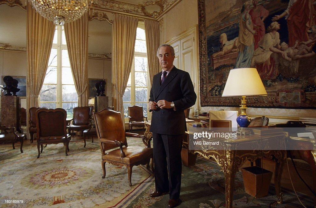Edouard balladur getty images - Bureau du premier ministre ...