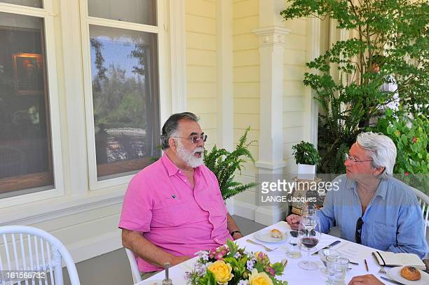 Rendezvous With Francis Ford Coppola In His Inglenook Property In The Napa Valley Rutherford 15 juillet 2011 Francis Ford COPPOLA s'entretenant avec...