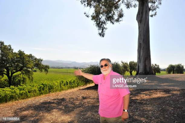Rendezvous With Francis Ford Coppola In His Inglenook Property In The Napa Valley Rutherford 15 juillet 2011 Francis Ford COPPOLA présentant son...