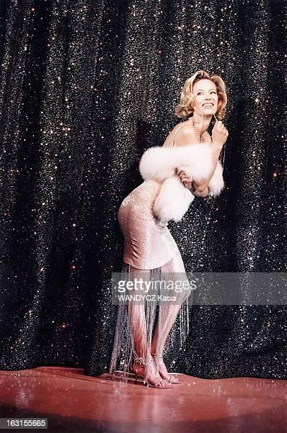 Rendezvous With Gabrielle Lazure At Michel Theater Where She Plays In 'Copier/Coller' Gabrielle LAZURE au théâtre Michel à PARIS la comédienne posant...