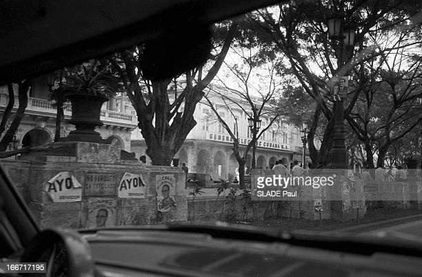 Rendezvous With General Fulgencio Batista With Family In Havana République de Cuba La Havane avril 1958 Fulgencio Batista alors président de la...
