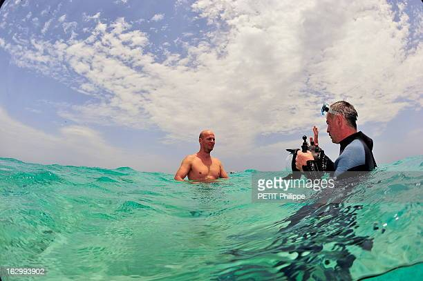 Rendezvous With Herbert Nitsch In Egypt Herbert NITSCH recordman du monde en apnée avec 250 mètres s'entraîne en Mer Rouge à HURGHADA en Egypte notre...