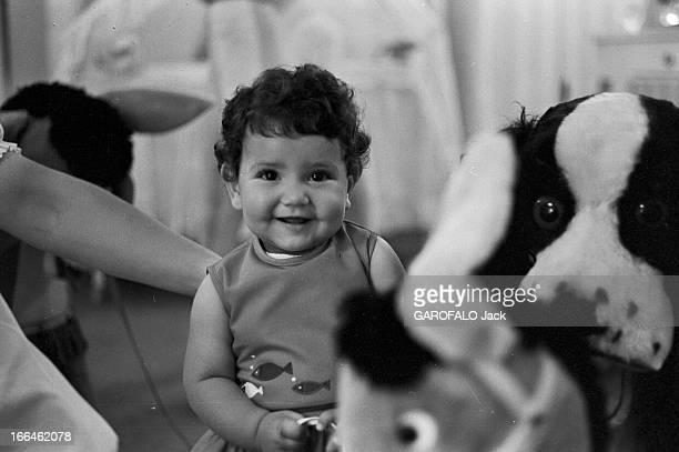 Rendezvous With King Hassan Ii Morocco And Daughter Princess Lalla Meryem Au début des années 60 dans une chambre portrait de la Princesse Lalla...