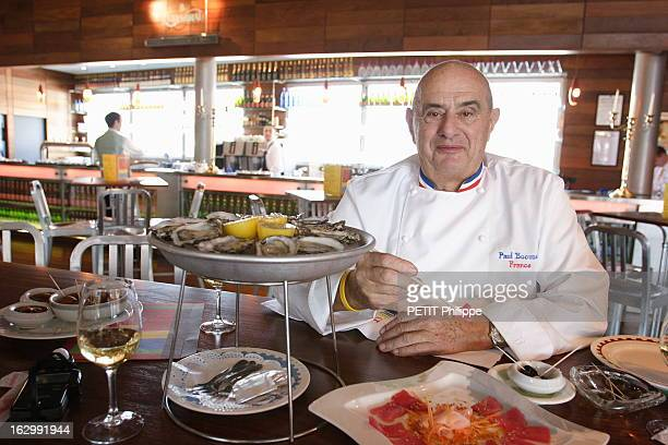 paul bocuse foto e immagini stock getty images. Black Bedroom Furniture Sets. Home Design Ideas