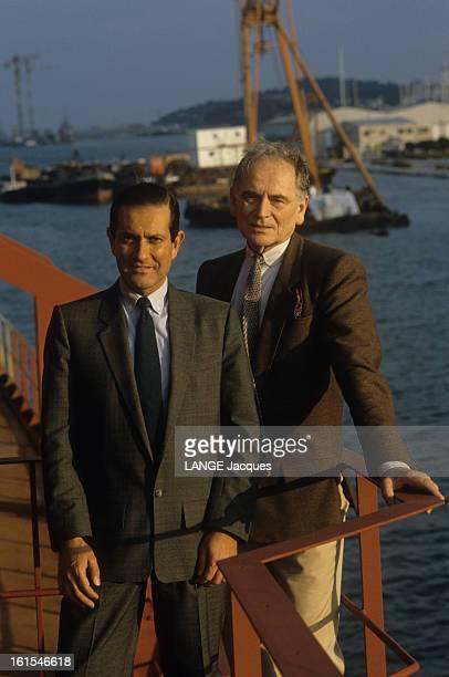 Rendezvous With Pierre Cardin Jean Miguel le propriétaire du bateau de croisière 'Le Maxim's des Mers'