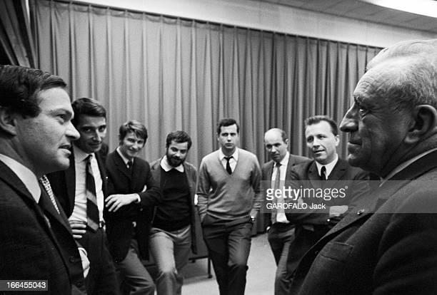 Rendezvous With Professor Neel Nobel Prize For Physics France Grenoble 30 octobre 1970 le Professeur Louis NEEL physicien français Il est lauréat de...