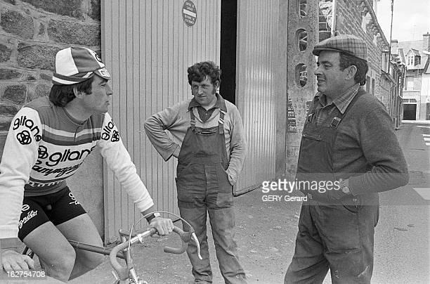 Rendezvous With Racing Cyclist Bernard Hinault France 12 juin 1977 Après avoir remporté de nombreuses victoires durant les 2 dernières années le...