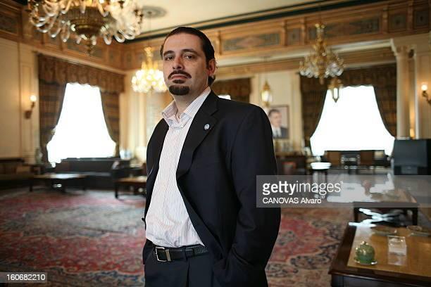 Rendezvous With Saad Hariri Plan américain de Saad HARIRI 37 ans deuxième fils de Rafic Hariri entré en politique après l'assassinat de son père...