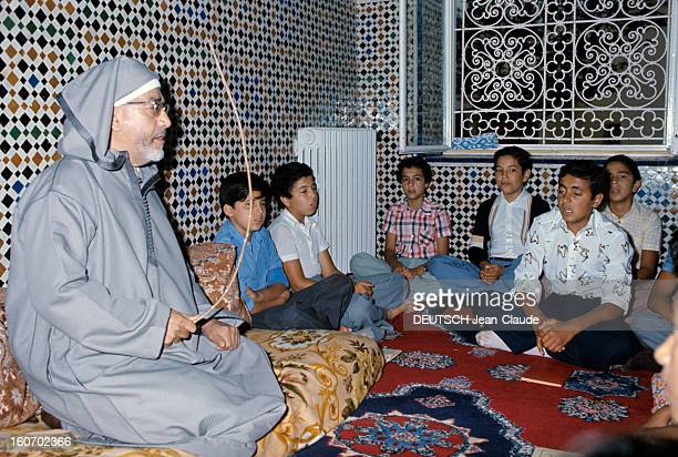 Rendezvous With Sidi Mohammed The Crown Prince Of Morocco Rabat juillet 1976 L'éducation et la vie du jeune prince héritier Sidi MOHAMMED Etude du...