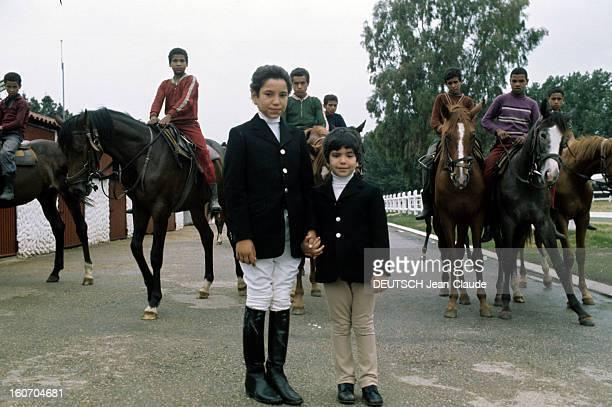 Rendezvous With Sidi Mohammed The Crown Prince Of Morocco Rabat juillet 1976 Portrait du jeune prince héritier Sidi MOHAMMED en tenue de joker veste...