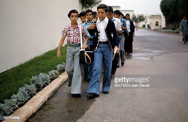 Rendezvous With Sidi Mohammed The Crown Prince Of Morocco Rabat juillet 1976 L'éducation et la vie du jeune prince héritier Sidi MOHAMMED en...