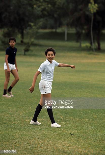 Rendezvous With Sidi Mohammed The Crown Prince Of Morocco Rabat juillet 1976 Passionné de football le jeune prince héritier Sidi MOHAMMED organise...