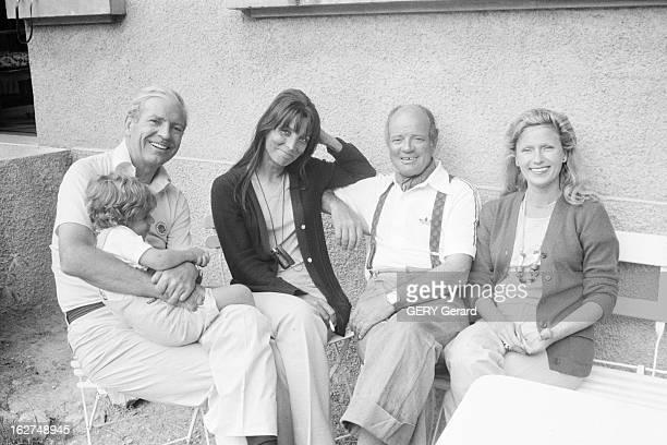 Rendezvous With Singer And Actress MarieJose Neuville En Aout 1979 lors d'un séjours à la montagne la chanteuse comédienne animatrice de radio et de...