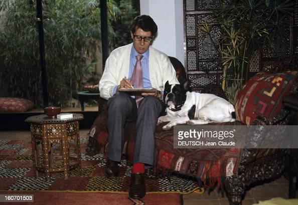 Rendezvous with yves saint laurent in his palace in marrakech pictures gett - Yves taralon decorateur ...