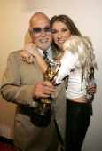 Rene Angelil and Celine Dion winner of the Diamond Award