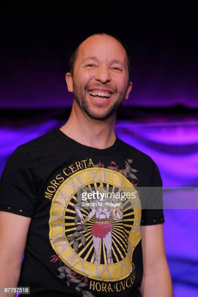 Rene Baumann performs during the showcase at Teatro Schuhbeck on March 15 2010 in Munich Bavaria