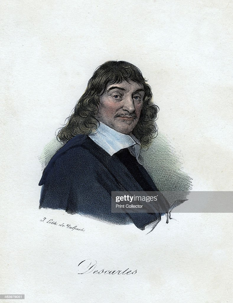 Rene Descartes, French philosopher, mathematician, and scientist, c19th century. Regarded as one of the great figures in the history of Western thought, Descartes (1596-1650) is widely considered to be the father of modern philosophy.