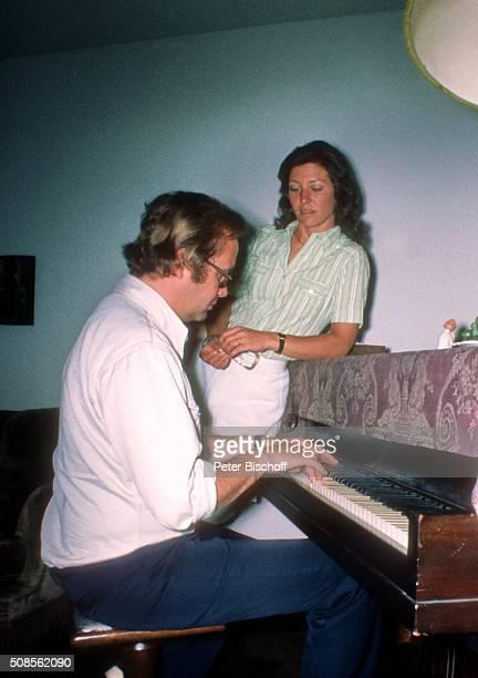 'Rene Kollo und Ehefrau Dorthe Kollo Homestory am in Bayreuth Deutschland '