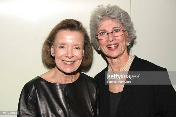 Rene Landeau and Gail Hoffman attend A Centennial Celebration for Harold Arlen at The Museum of Television and Radio on October 17 2005 in New York...