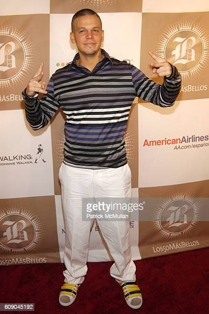Rene of Calle 13 attends PEOPLE EN ESPANOL'S '50 Most Beautiful' StarStudded Event at Splashlight Studios on May 16 2007 in New York City