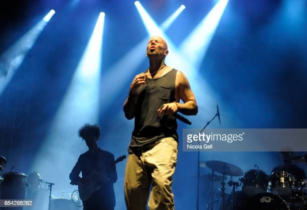 Rene Perez Joglar aka Residente performs onstage at SXSW Outdoor Stage at Lady Bird Lake during 2017 SXSW Conference and Festivals on March 16 2017...