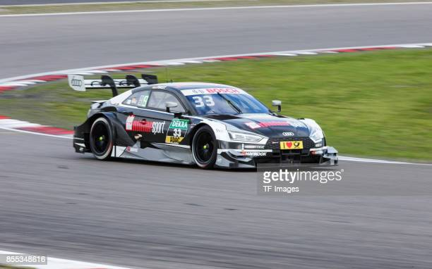 Rene Rast drives during the race of the DTM 2017 German Touring Car Championship at Nuerburgring on Septembmber 10 2017 in Nuerburg Germany