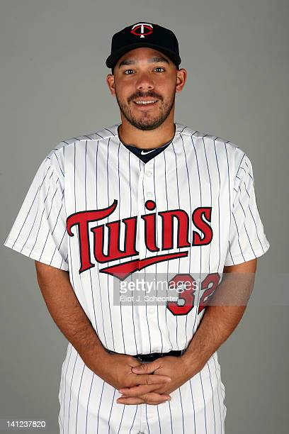 Rene Rivera of the Minnesota Twins poses during Photo Day on Monday February 27 2012 at Hammond Stadium in Fort Myers Florida