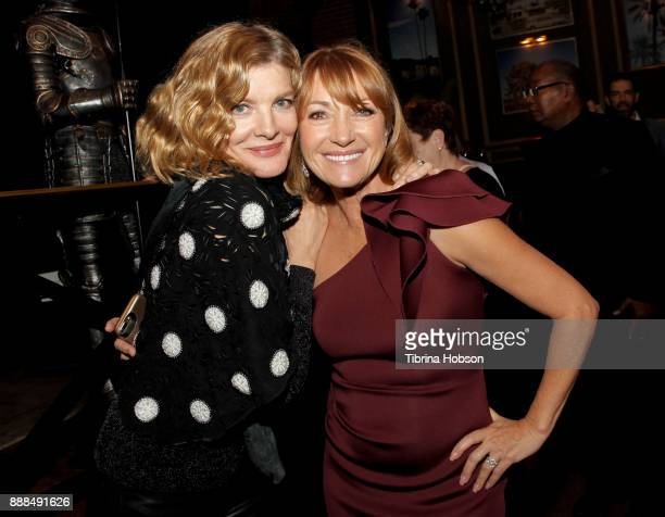 Rene Russo and Jane Seymour attend the premiere of 'Just Getting Started' after party on December 7 2017 in Hollywood California