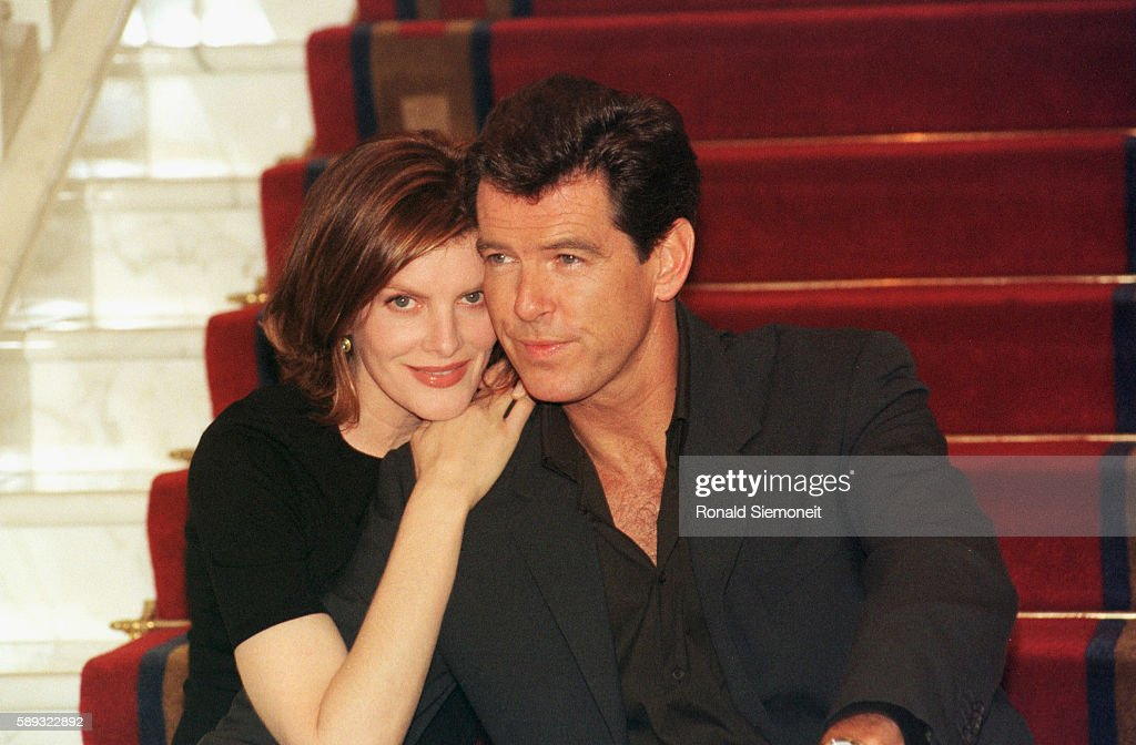 Excellent Rene Russo And Pierce Brosnan At Hotel Adlon For The Presentation Hairstyles For Women Draintrainus