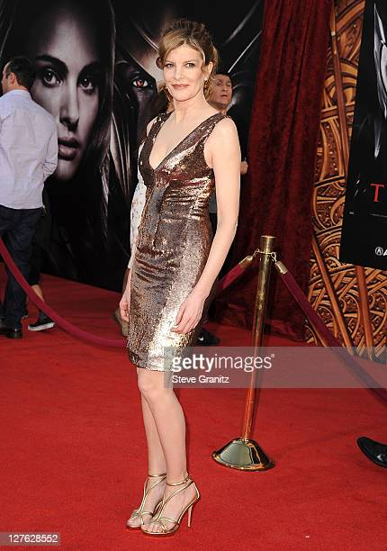 Rene Russo attends the 'Thor' Los Angeles Premiere at the El Capitan Theatre on May 2 2011 in Hollywood California
