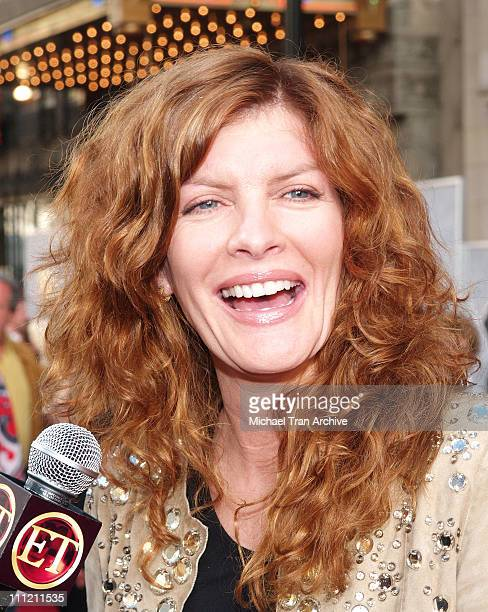 Rene Russo during 'The Greatest Game Ever Played' Los Angeles Premiere Arrivals at El Capitan Theater in Los Angeles California United States