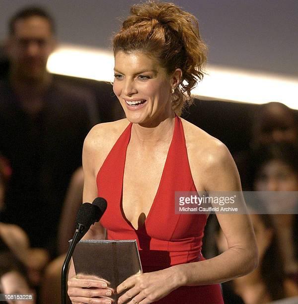 Rene Russo presenter Favorite Movie Drama Award during 31st Annual People's Choice Awards Show at Pasadena Civic Auditorium in Pasadena California...