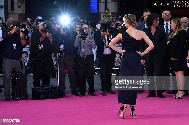 Renée Zellweger attends the 'Bridget Jones's Baby' world premiere at the Odeon Leicester Square on September 5 2016 in London England