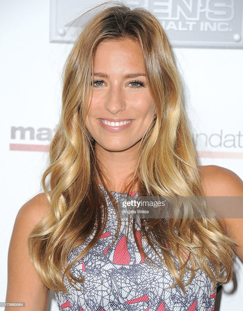Renee Bargh arrives at the Matt Leinart Foundation's 7th Annual 'Celebrity Bowl' at Lucky Strike Bowling Alley on July 18, 2013 in Hollywood, California.