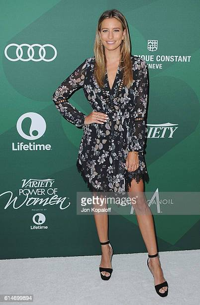 Renee Bargh arrives at Variety's Power Of Women Luncheon 2016 at the Beverly Wilshire Four Seasons Hotel on October 14 2016 in Beverly Hills...