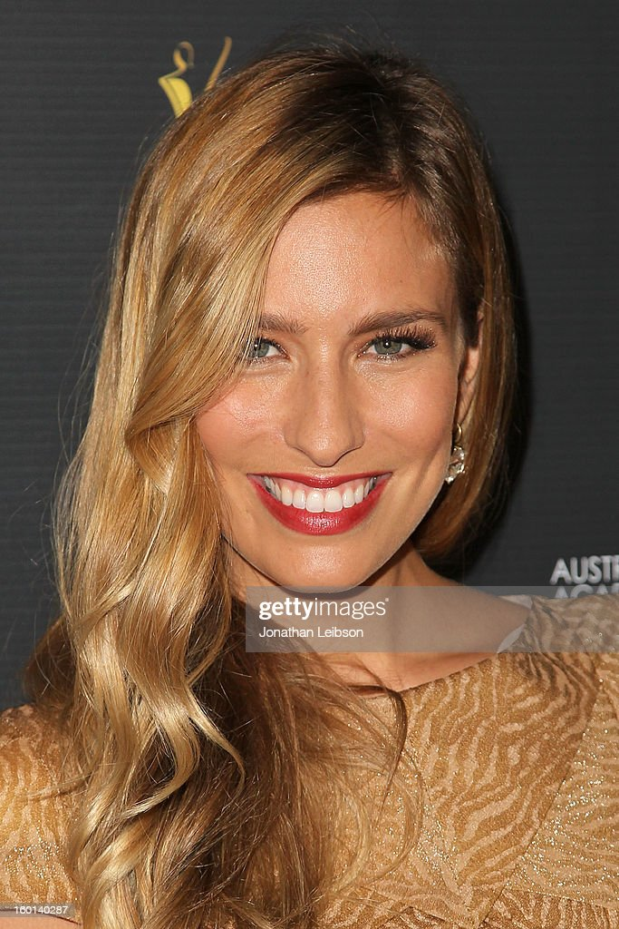 Renee Bargh attends the 2nd AACTA International Awards at Soho House on January 26, 2013 in West Hollywood, California.