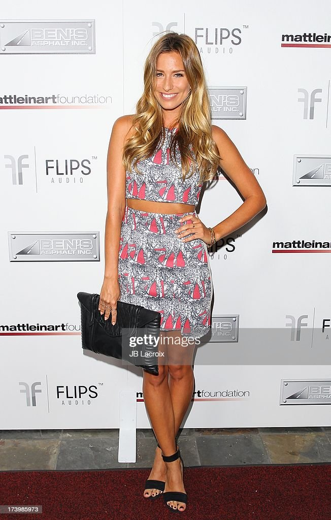 Renee Bargh attends the Matt Leinart Foundation's 7th Annual 'Celebrity Bowl' at Lucky Strikes on July 18, 2013 in Hollywood, California.