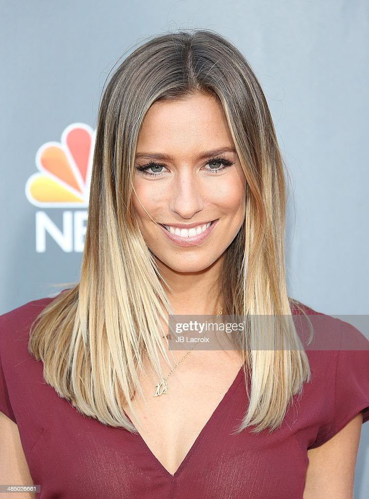 <a gi-track='captionPersonalityLinkClicked' href=/galleries/search?phrase=Renee+Bargh&family=editorial&specificpeople=4267341 ng-click='$event.stopPropagation()'>Renee Bargh</a> attends 'The Voice' Season 6 Top 12 Red Carpet Event on April 15, 2014 in Universal City, California.