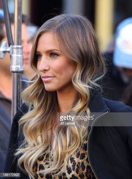 Renee Bargh is seen at The Grove on December 6 2011 in Los Angeles California